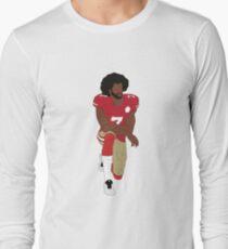 Colin Kaepernick Kneeling  Long Sleeve T-Shirt