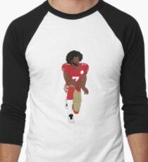 Colin Kaepernick Kneeling  Men's Baseball ¾ T-Shirt