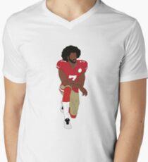 Colin Kaepernick Kneeling  Men's V-Neck T-Shirt