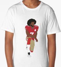 Colin Kaepernick Kneeling  Long T-Shirt