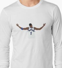 Tracy McGrady Hall Of Fame Design Long Sleeve T-Shirt