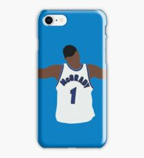 Tracy McGrady Hall Of Fame Design iPhone Case/Skin