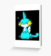 Pokemon mudkip Greeting Card