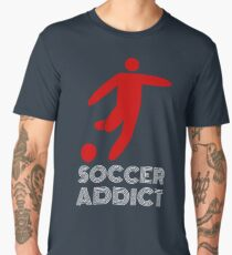 Soccer Addict Design Men's Premium T-Shirt
