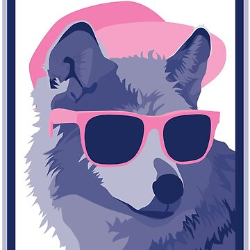 Two Tone Wolf by emilyolive