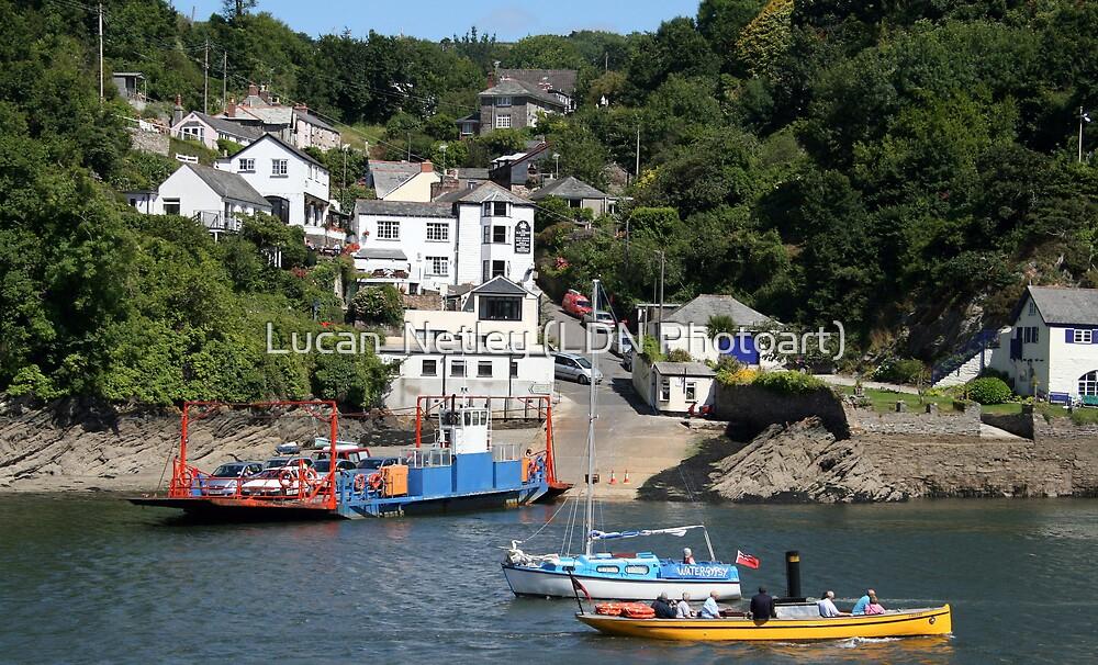 catch the ferry across to Fowey........ by Lucan  Netley (LDN Photoart)