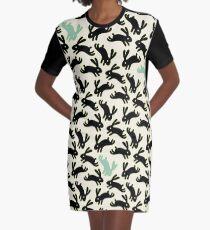 Bunny Honey Graphic T-Shirt Dress