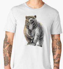 Der große Bär - Ein heftiger Beschützer Männer Premium T-Shirts
