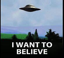 i want to believe by redplaiddress
