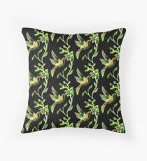 Reflections of Green - Hummingbird Floor Pillow