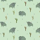 Bison-Muster-Pistazie von n1mh