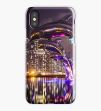 Dolphin Statue Asian City iPhone Case/Skin