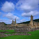 Byland Abbey -3 by Trevor Kersley