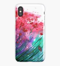 Flowers - Dancing Poppies iPhone Case