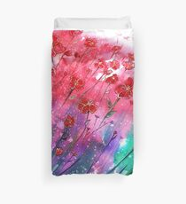 Flowers - Dancing Poppies Duvet Cover