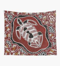 Aboriginal Art – Turtle Dreaming Wall Tapestry