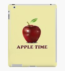 It's Apple time iPad Case/Skin