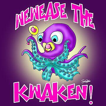 Wewease The Kwaken!!! by SamSteinDesigns