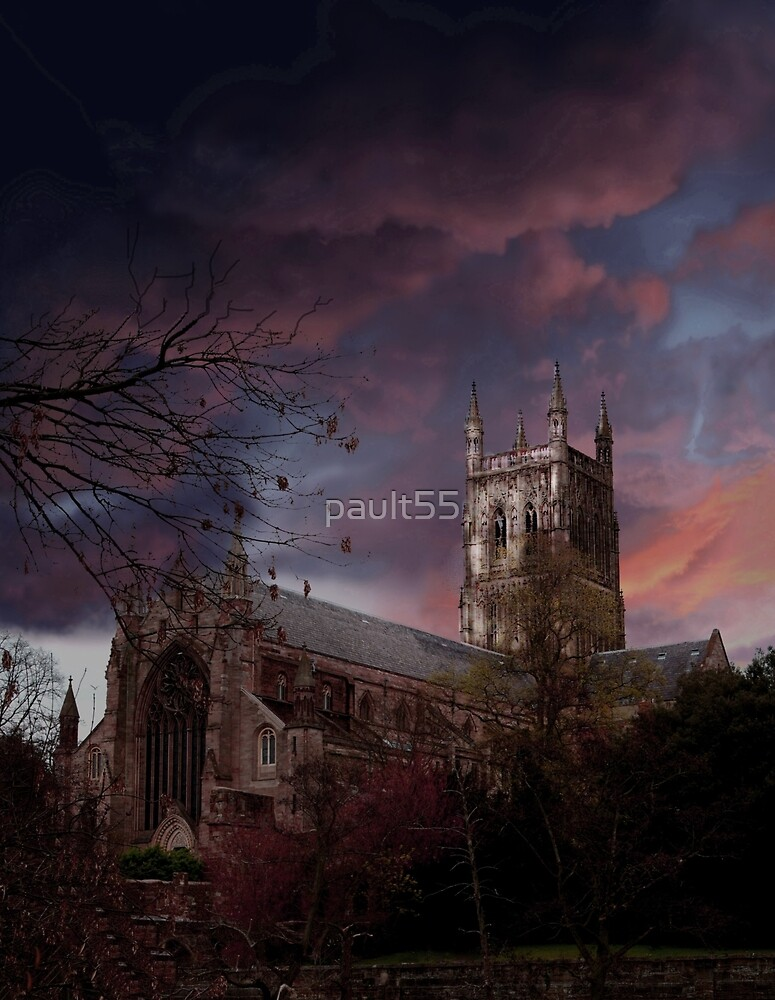 Worcester Cathedral by pault55