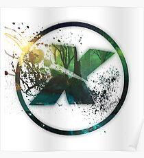 Xeno Music Circle Logo Poster