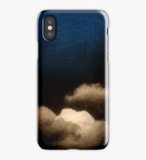 Clouds in a scratched darkness iPhone Case/Skin
