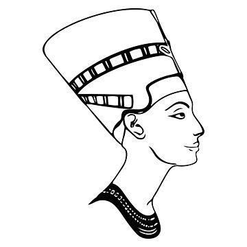 Nefertiti by Teepack