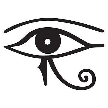 Eye of Horus by Teepack
