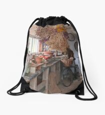The Potting Shed Drawstring Bag
