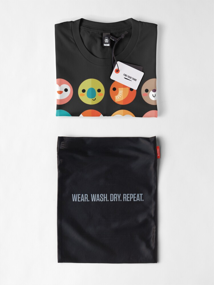 Alternate view of Smiley Faces Premium T-Shirt