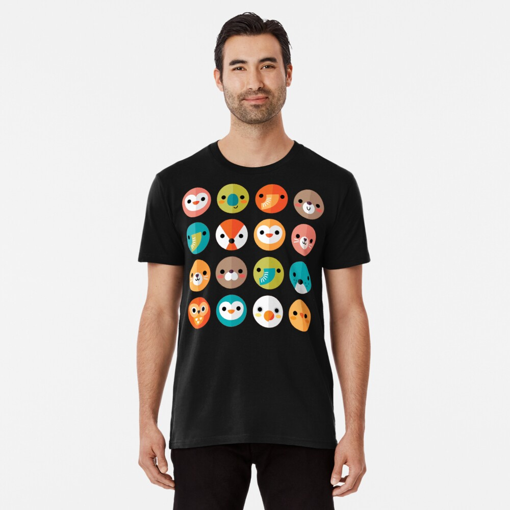 Smiley Faces Premium T-Shirt