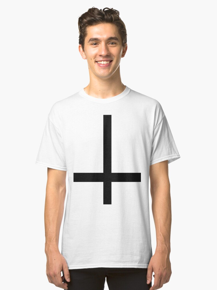 Cross of Saint Peter Classic T-Shirt Front