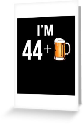 Funny 45th Birthday 45 Year Old Beer Lovers Gift