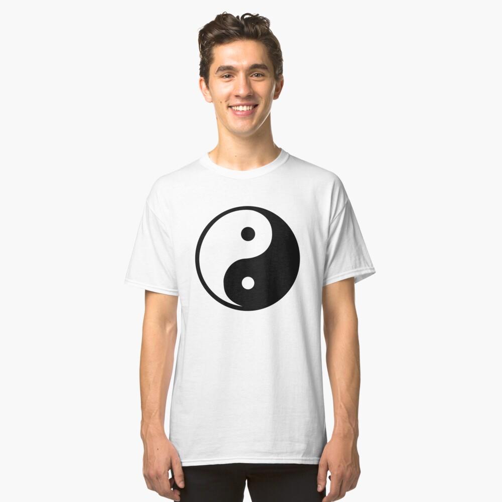 Yin Yang Classic T-Shirt Front