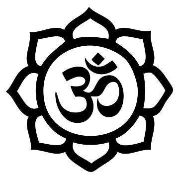 Om flower by Teepack