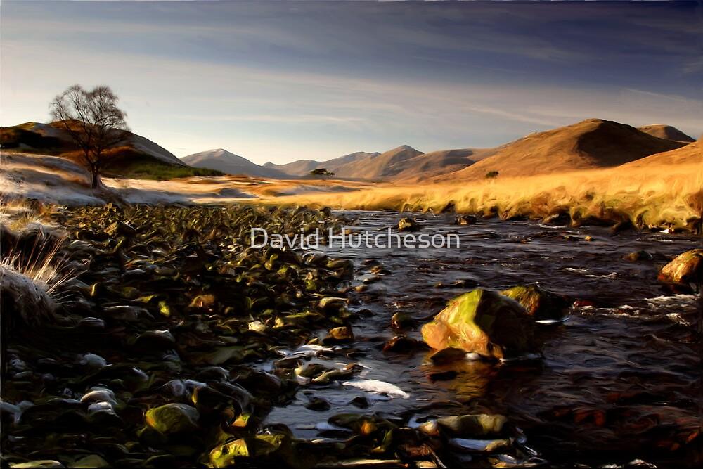 River bed - Glen Kinglass * by David Hutcheson