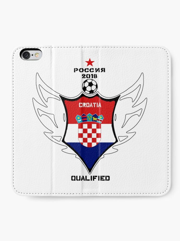 Alternative Ansicht von Croatia iPhone Flip-Case