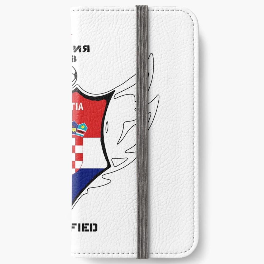 Croatia iPhone Flip-Case