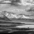 Above Lake Tekapo 1 by Charles Kosina