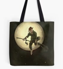 Witch boy Tote Bag