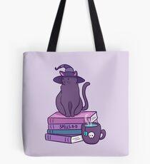 Katzenartige Vertraute Tote Bag