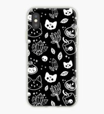 Vinilo o funda para iPhone Herb Witch // Blanco y negro