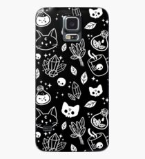 Herb Witch // Black & White Case/Skin for Samsung Galaxy