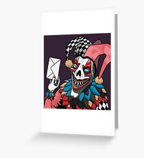 Postie the Clown Greeting Card