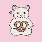 I love you more than this hamster loves pretzels by nikury