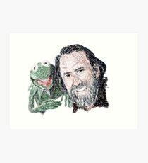 Jim Art Print