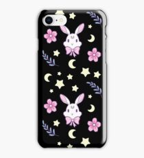 Sakura Bunny iPhone Case/Skin