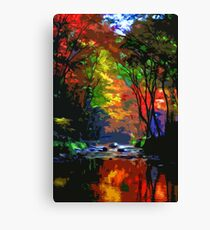 Dream of Autumn Canvas Print