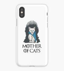 Mother Of Cats 2 iPhone Case/Skin