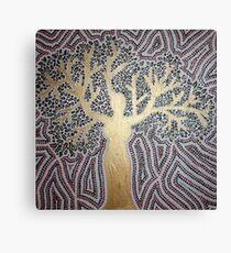 woman-tree Canvas Print