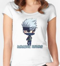Kakashi Hatake Women's Fitted Scoop T-Shirt